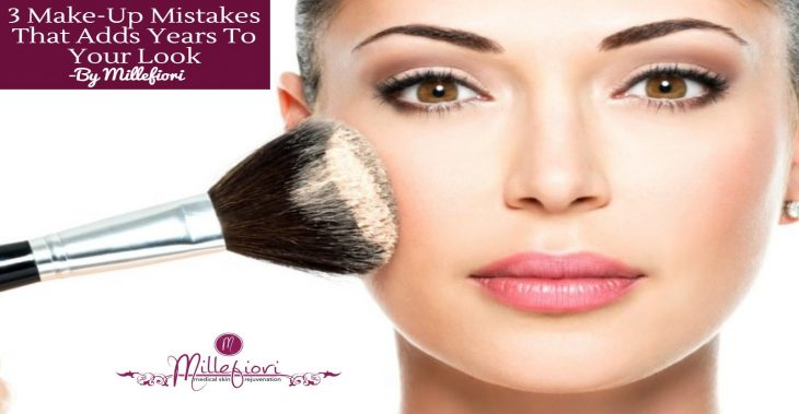 3 Makeup Mistakes that Age You